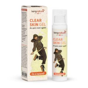 Akne natürlich behandeln mit dem Clear Skin Gel