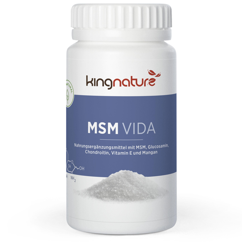 MSM Kapseln kaufen mit Glucosamin,Chondroitin und Vitamin E